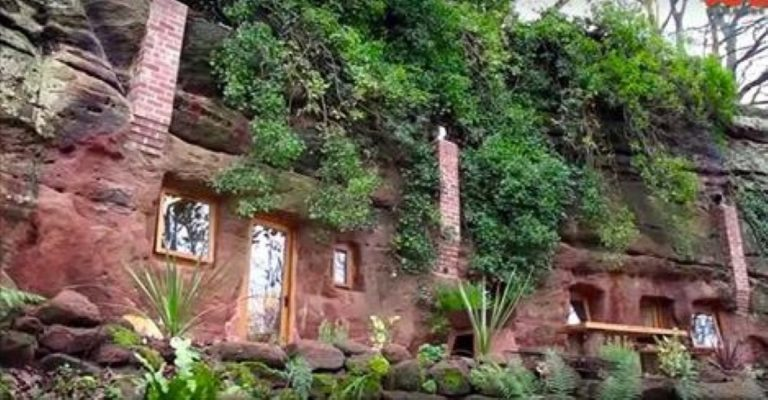 Man With Multiple Sclerosis Builds Incredible $230k House In A 700 Year-Old Cave!