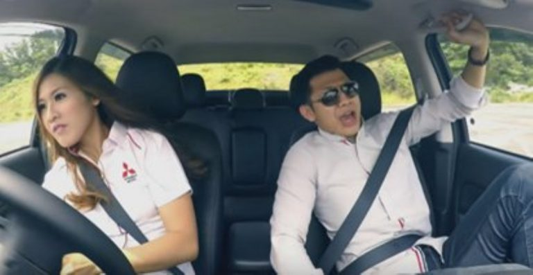 How She Reacts To Him Telling Her That 'Only a Man Can Drive This Car' Is HILARIOUS!