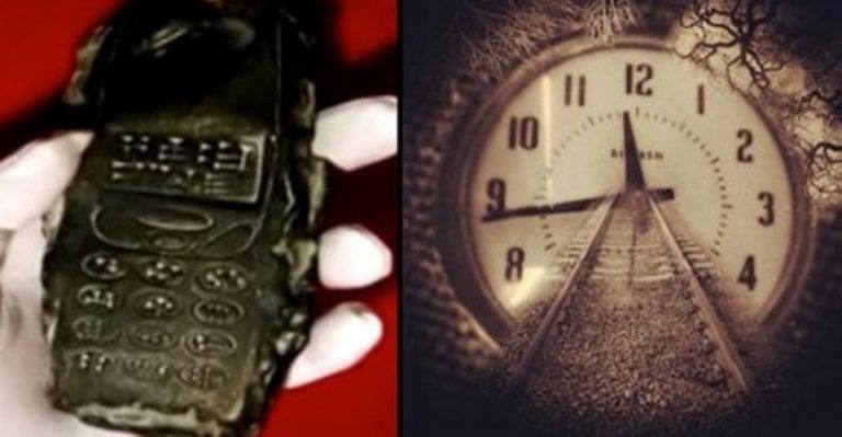 800 Year-Old Cellphone – Proof Of Time Travel Or Left By Aliens…?