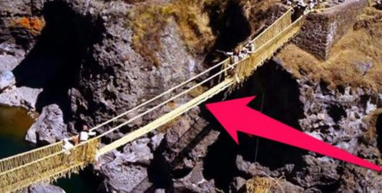 Two Villages Rebuild The Same Rope Bridge Every Year – See What What Happens When They Meet