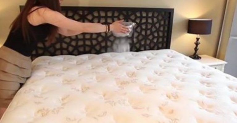 She Tosses Baking Soda All Over Her Bed… 30 Minutes Later? Something Amazing Happens!