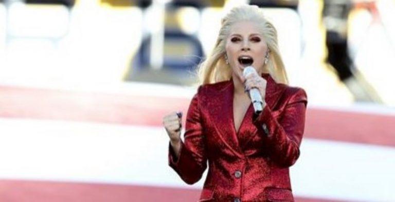 Lady Gaga Sang The National Anthem At The Super Bowl And Totally NAILED IT!