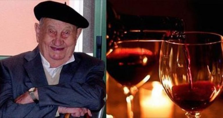 107 Year-Old Man Reveals The Trick To A Long Life Is FOUR Bottles Of Wine A Day!