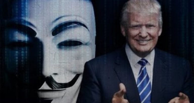 Anonymous Have Just Declared All-Out WAR on Donald Trump!