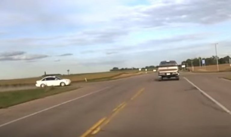 This Is The Closest 'Near-Death' Road Collision You'll Ever See