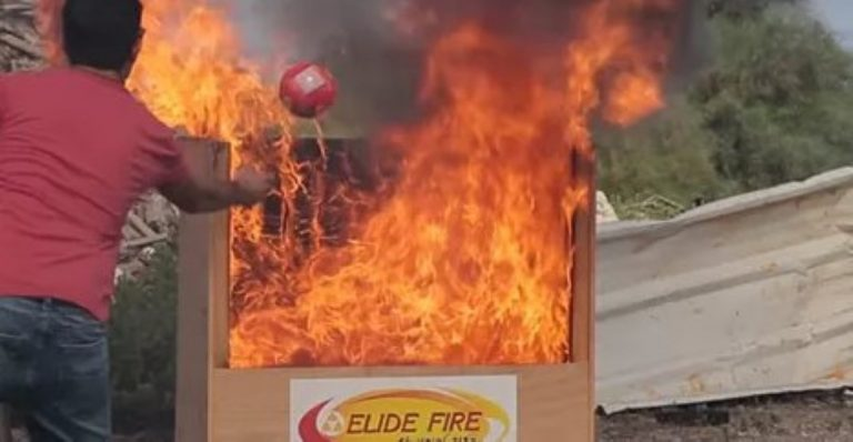 Wait 'Til You See The New 'Throwable Fire Extinguishers' – They AMAZING!