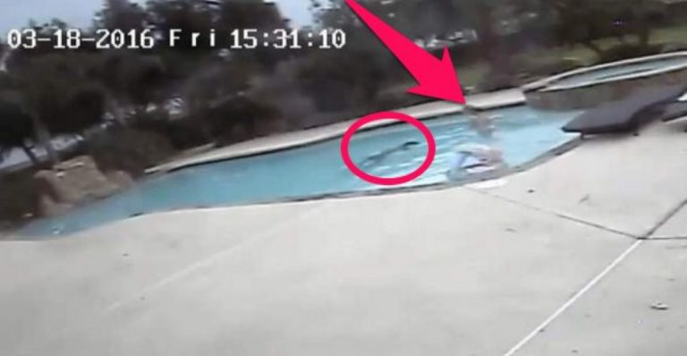 Brave Five Year-Old Girl Sees Mom Drowning In Pool; Does Something INCREDIBLE!