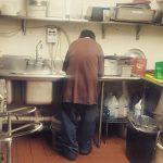 Cafe Gives Beggar Job