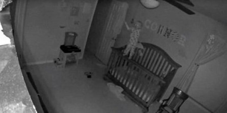 Creepy Video Showing A 'Possessed' Baby Balancing On Crib Railing FREAKS OUT The Internet!