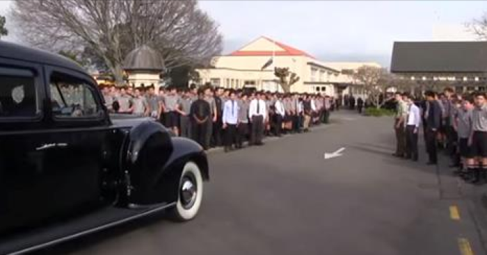 The Entire School Turned Up For This Teacher's Funeral. When They Did THIS My Jaw Dropped