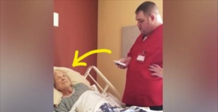 Hospice Worker Walks Up To Dying Woman's Bed Whilst She Sleeps, Then They Catch THIS On Camera…