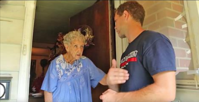Neighbors Reported Her Messy Home, But When He Shows Up At The Front Door? Unbelievable