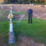 man waters wife's grave every day 2