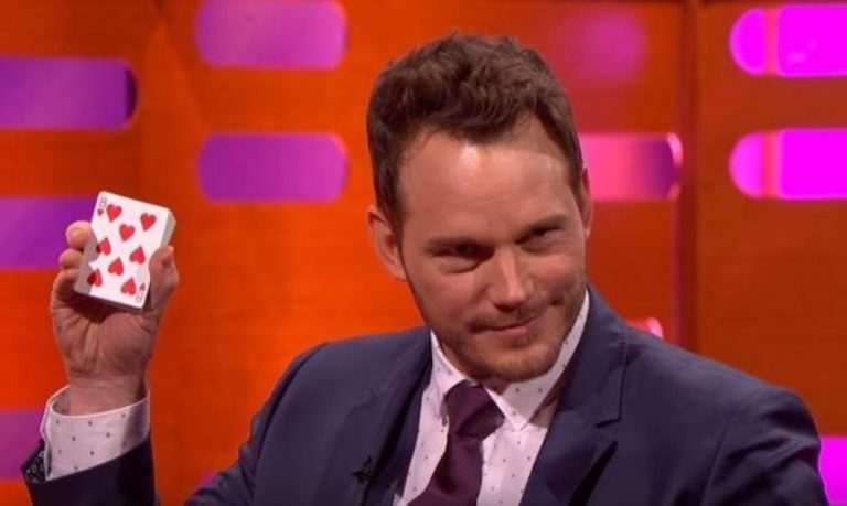 Chris Pratt Pulls Off Scarily-Good Magic Trick During TV Interview…