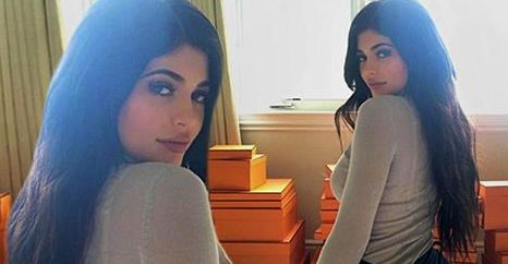 Kylie Jenner Flaunts Suspciously-Sized Butt… Is It Now Bigger Than Kim K's???