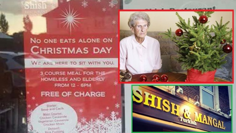 Restaurant's Open Christmas Day For Lonely, Elderly And Homeless People