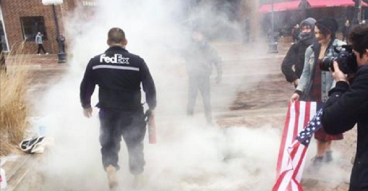 FedEx Takes To Twitter To Reveal Fate Of Bad*ss Employee Who Saved The Flag