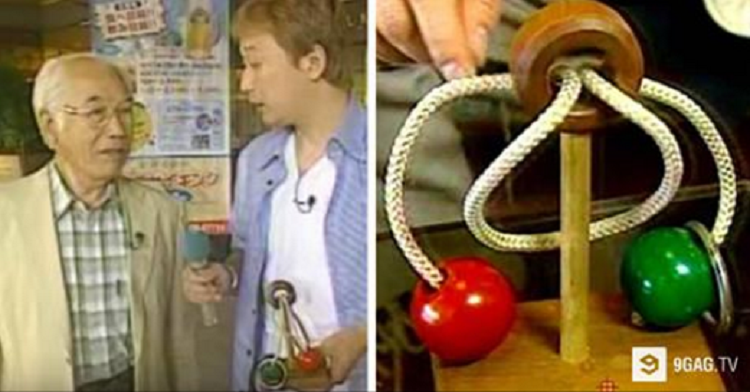 Elderly Japanese Man Has Been Struggling With This Puzzle For Over Ten Years. Watch Him Finally Get Some Help!