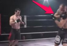 Fighter fixes opponent's dislocated shoulder