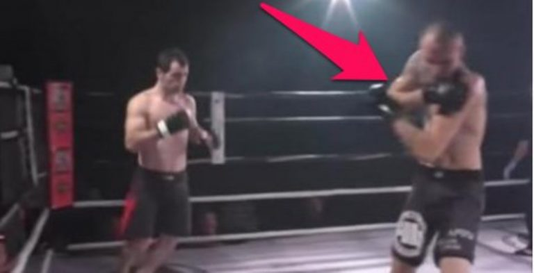 MMA Fighter Dislocates Shoulder During Fight. His Opponent's Response? WHOA!