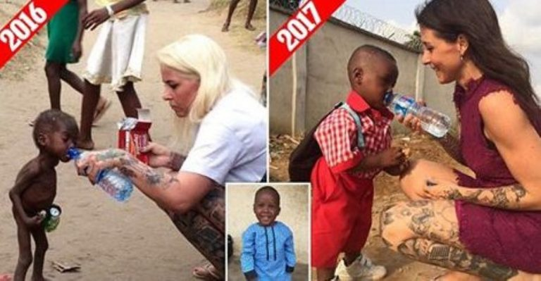 Saved African 'Witch' Boy Who Was Left For Dead By His Parents Has Just Started School!