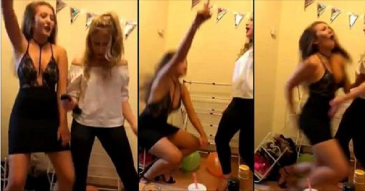 Dancing Girl Needs Stitches After Pole Goes Up Her Butt!